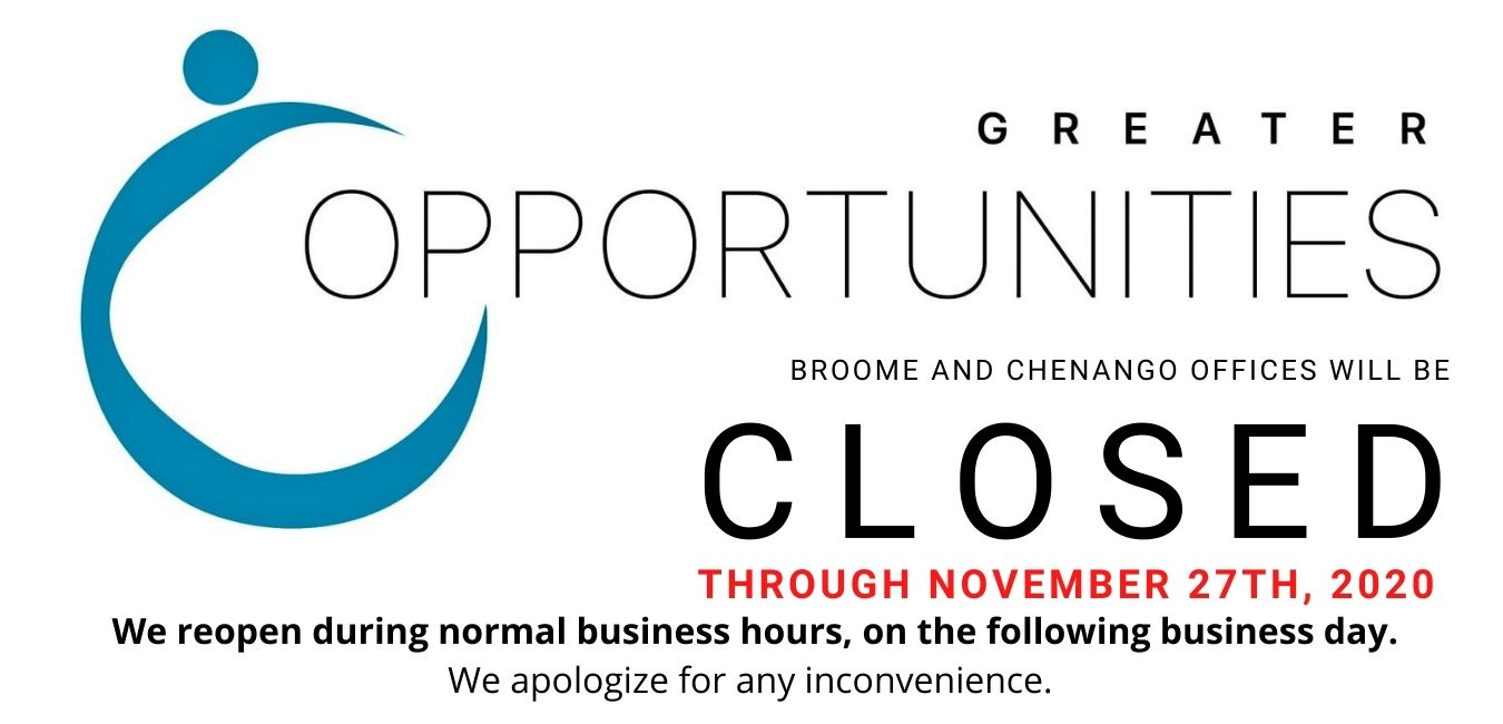 Closed through November 27th, 2020.