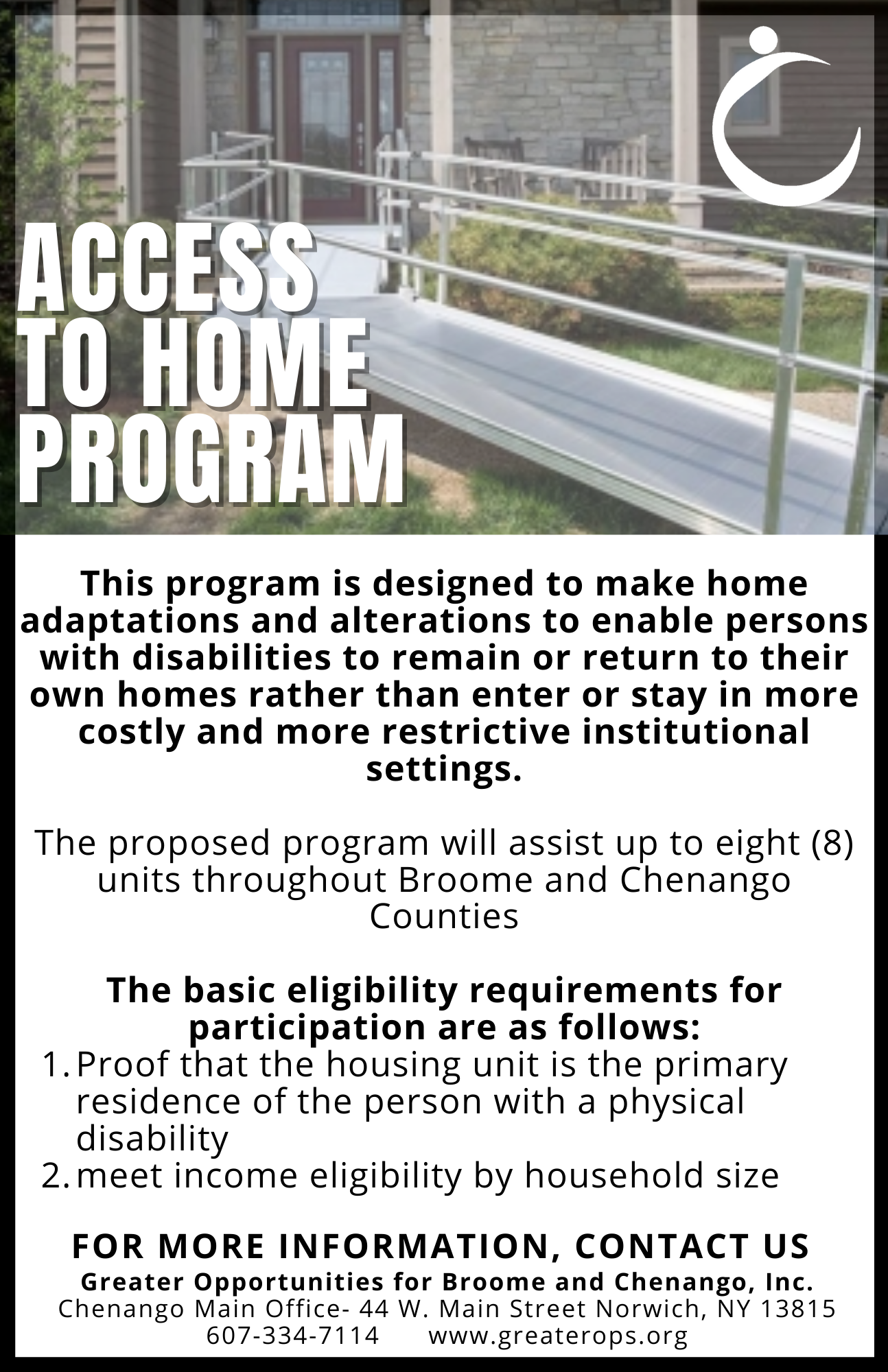 Access to Home Flyer
